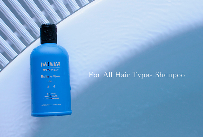 For all hair types shampoo