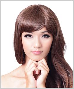 黄色人種のくせ毛